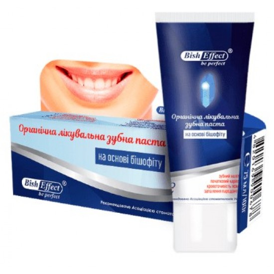 Bisheffect organinė dantų pasta su bišofitu